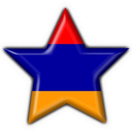 armenia: armenian button flag star shape