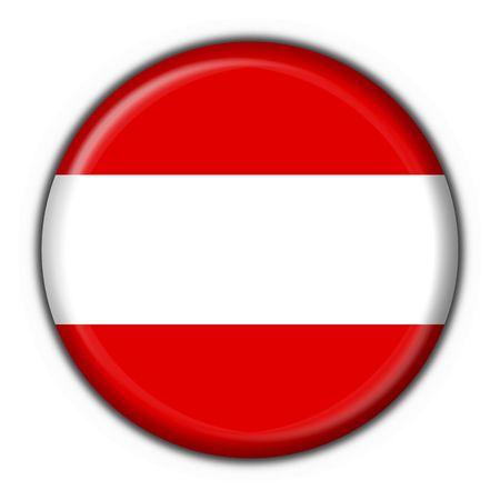 austrian: Austrian button flag round shape