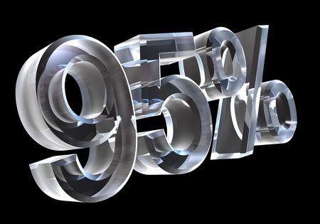 95: 95 per cento in vetro (3D)