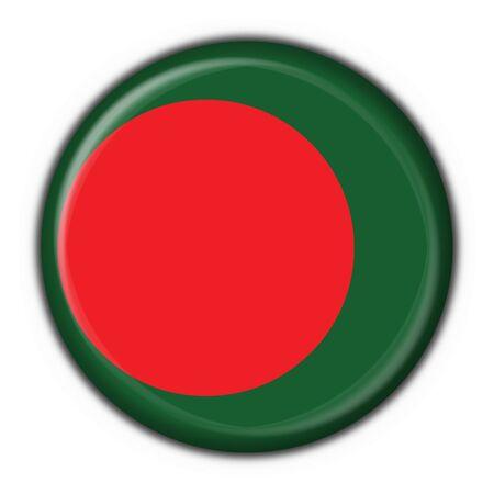 Bangladesh button flag round shape Stock Photo - 6117743