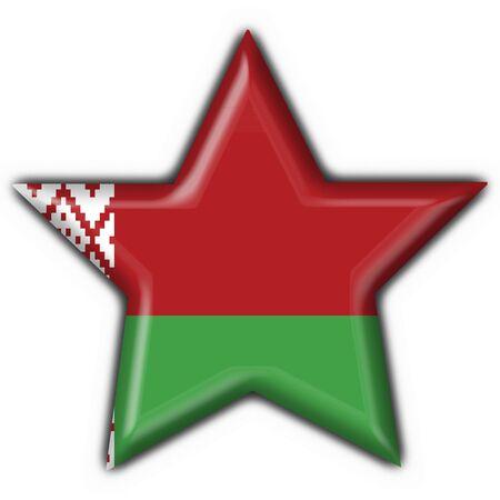 belorussian: belorussian button flag star shape