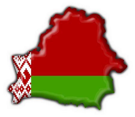 belorussian: belorussian button flag map shape