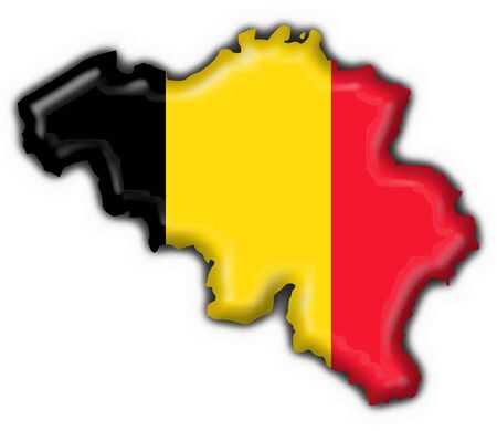 belgium button flag map shape belgium button flag star shape  photo