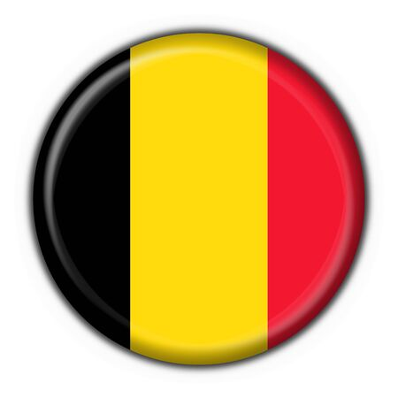 belgium button flag round shape  photo