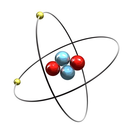 3d Helium Atom