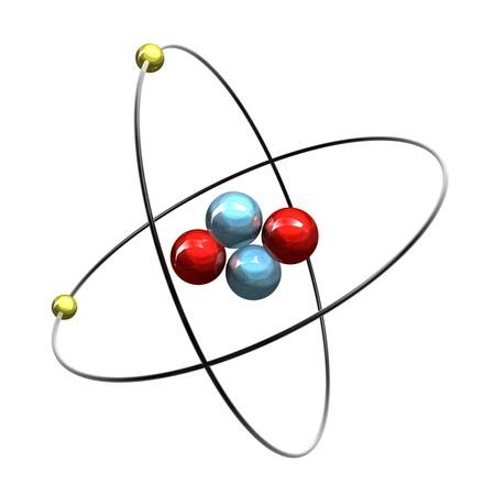 helium: 3d Helium Atom