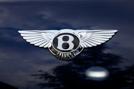 Bentley emblem - outside shoting