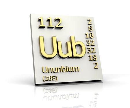 experimentation: Ununbium  Periodic Table of Elements