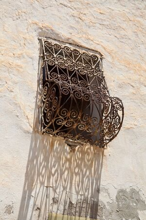 detail of a tunisian window, Djerba photo