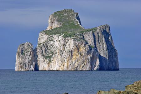 mineralization: Pan di Zucchero Coast of Nebida-Masua in south-western Sardinia