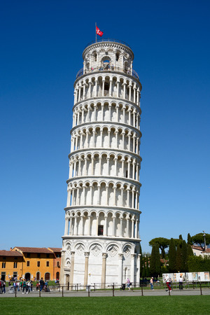 Leaning Tower of Pisa 스톡 콘텐츠