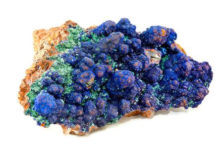 minerals: minerals azurite Stock Photo