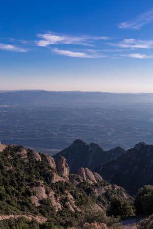 Mountain Montserrat, Catalonia Stock Photo