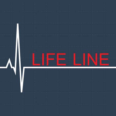 life pulse line.