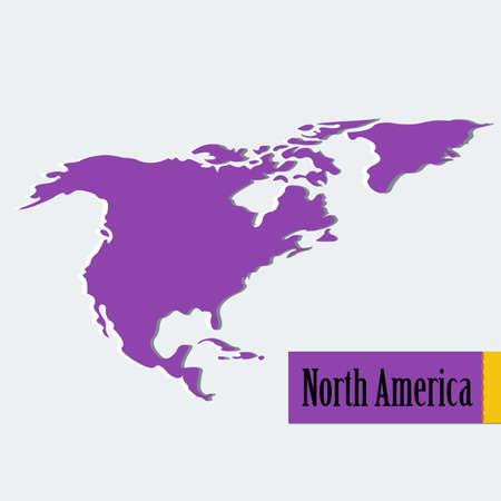 ベクトル北アメリカ。
