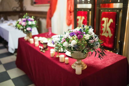 affable: decoration on wedding party