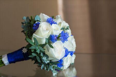 roze: wedding bouquet roze