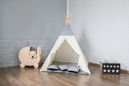 Playroom with Teepee