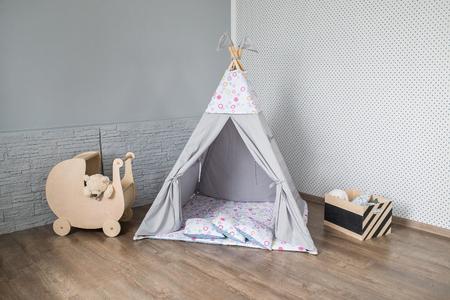 teepee in room