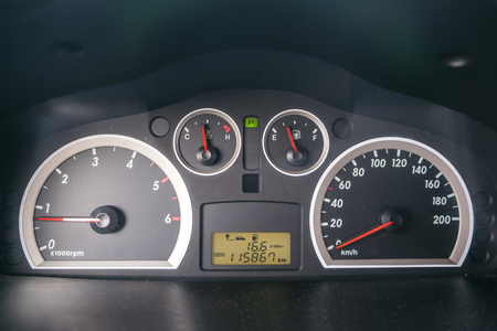 Car Speed Dashboard with LED display