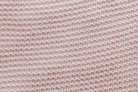 Pink texture of the knitted fabric. Horizontal view. 스톡 콘텐츠