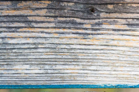 rustical: Old rustical wood abstract background with flaking blue color