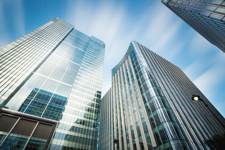 business building: Business building in Canary Wharf