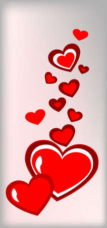 gift cards vor valentine Stock Vector - 8635260