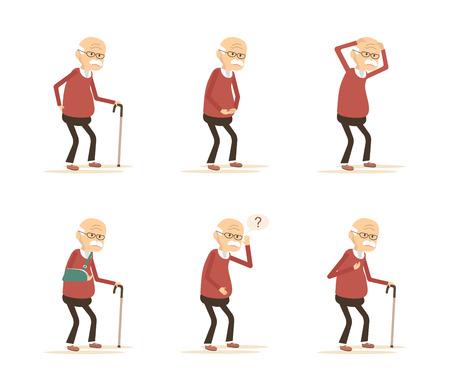 Old Man Ziekten