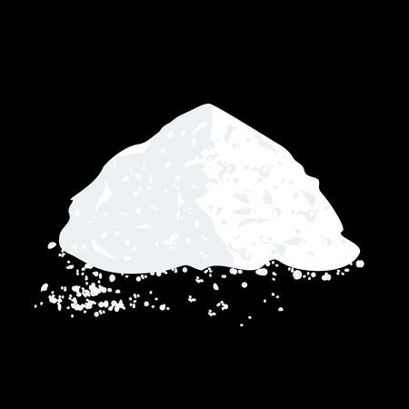 Salt or Sugar Pile
