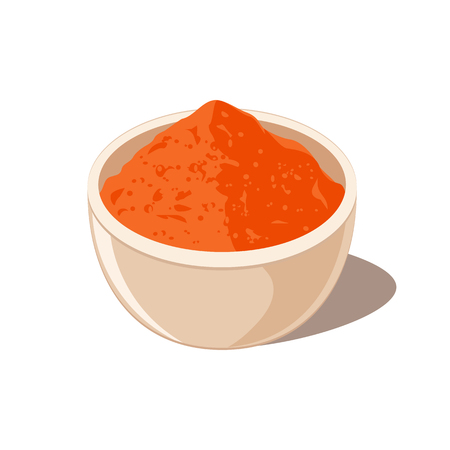 Chili Spice Powder in Bowl