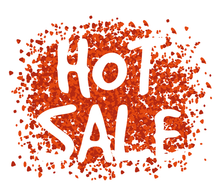 Red Hot Sale Background