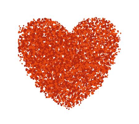 Red Heart Symbol Vettoriali