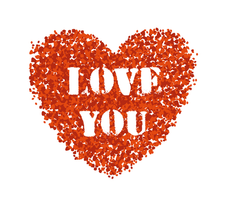 Red Heart Love You
