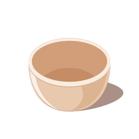Empty Bowl Icon Vettoriali