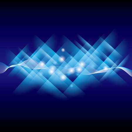 Abstract technology background for geometrical graphic concept design, vector science northern background.  イラスト・ベクター素材