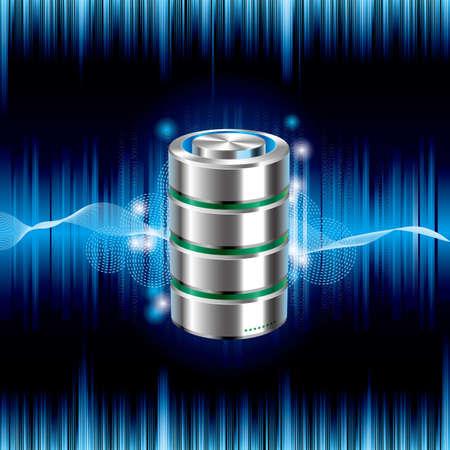 Cloud computing and networking design concept,drawn hard disk drive. Archivio Fotografico - 102576941