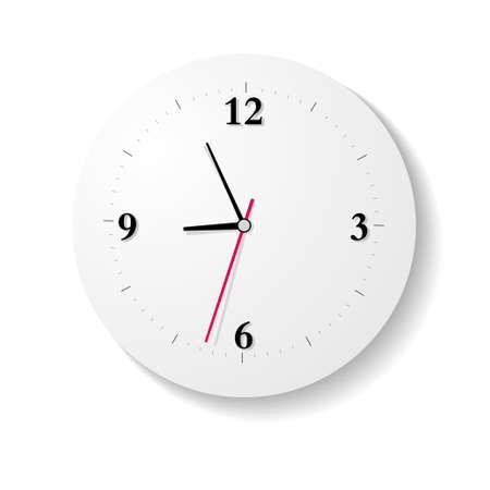 drawn digital clock, time is approaching nine oclock.