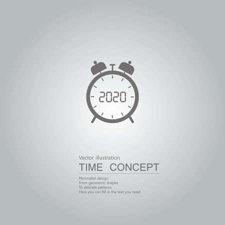 New Year 2020 symbol design.