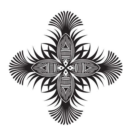 Abstract fish pattern design. Standard-Bild - 131276785