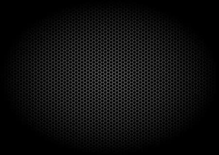 Abstract shading design. Dark metal background design.