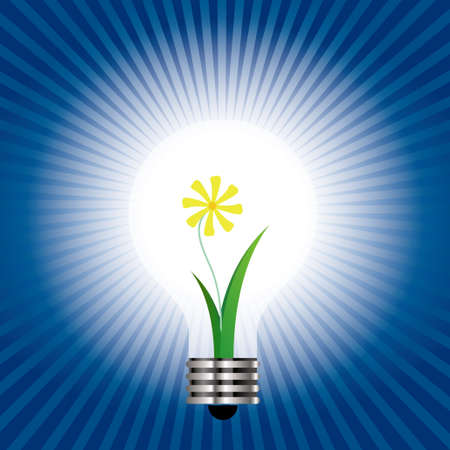 Plant idea, Spend in the light bulb.
