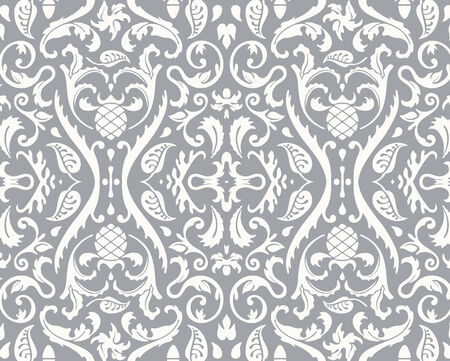 Floral vector grunge pattern texture seamless background