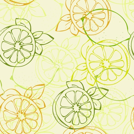 lime slice: background from yellow and green lemon lime
