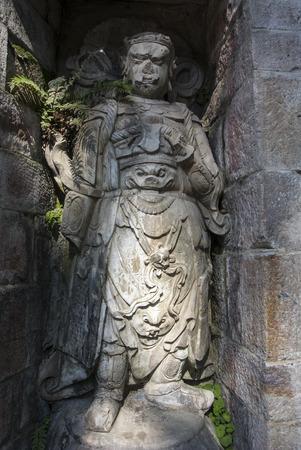 Portrait carving stone Stok Fotoğraf