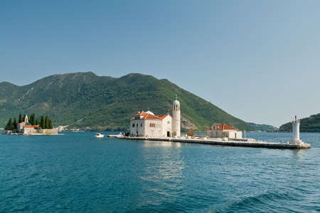 Sveti Dordje and Gospa od Skrpjela  Bay of Kotor