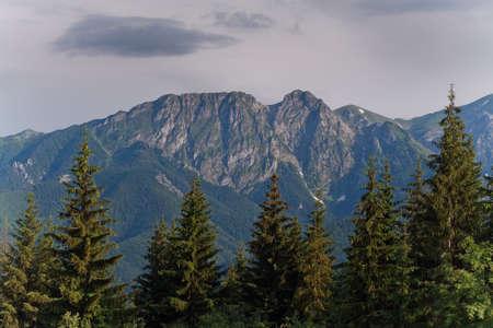 giewont: Giewont from Gubalowka  Tatra Mountains  Poland