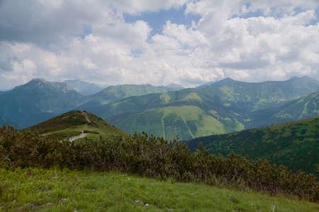 Vista desde la montaña Grzes. Foto de archivo - 13298929