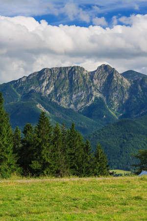 giewont: Giewont mountain from Gubalowka