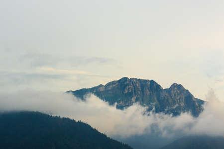 giewont: Giewont mountain from Antalowka near Zakopane
